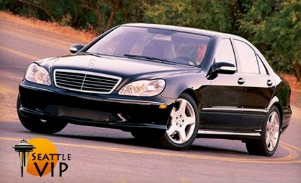 Seattle VIP Transportation: 2 Hours of Mercedes Transportation Covering Up to 35 Total Miles - Seattle VIP Transportation in