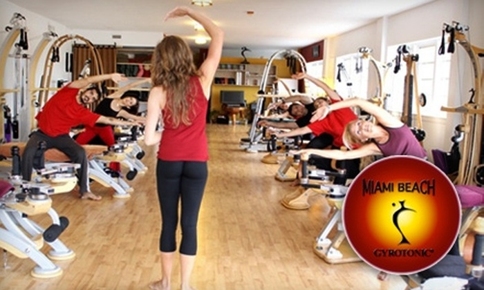 Miami Beach GYROTONIC® - Flamingo / Lummus: $59 for Three Private Sessions Plus a Group Class at Miami Beach GYROTONIC® ($250 Value)