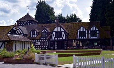 Kent: Standard Double or Twin Room for Two with Breakfast and Optional Massage at Hever Hotel