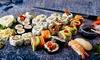 Sushi d'asporto: 40 o 55 pezzi