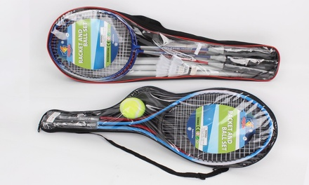 Kids' Tennis or Badminton Set