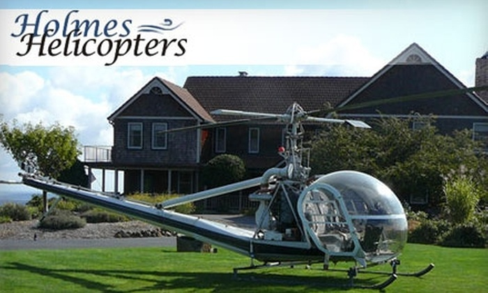 Holmes Helicopters - Newberg: Up to Half Off a Helicopter Tour or Lesson from Holmes Helicopters. Choose from Three Options.