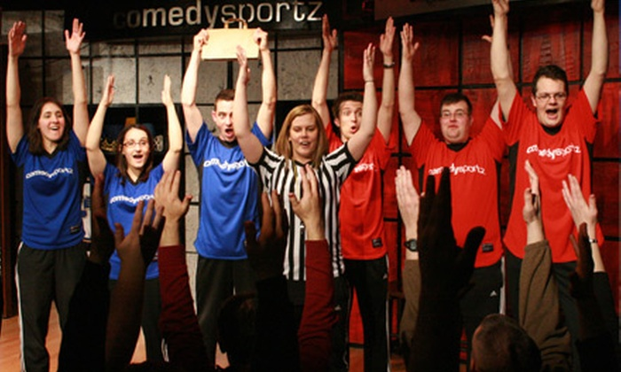 The ComedySportz Theatre - North Center: $75 for a Six-Week Fundamentals of Improv Class at The ComedySportz Theatre (Up to $205 Value)