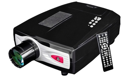 Pyle HD Home-Theater Multimedia Widescreen Projector with Up to 100