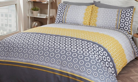 Exotic and Geo Duvet Set