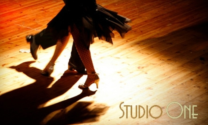 Studio One - Northwest Side: Dance Classes at Studio One. Choose Between Two Options.