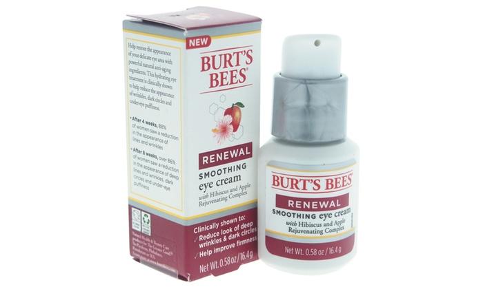 image relating to Burt's Bees Coupons Printable known as Burts Bees Renewal Smoothing Eye Product