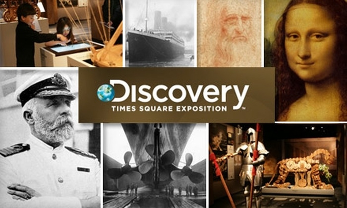 "Discovery TSX Box Office - Theater District - Times Square: $12 for One Ticket to ""Leonardo da Vinci's Workshop"" at the Discovery Times Square Exposition. See Below for Additional Exhibits."