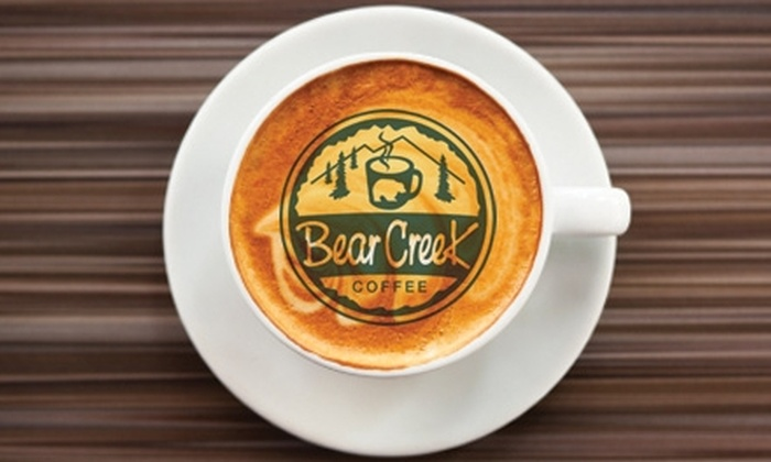 Bear Creek Coffee - Omaha: $5 for $10 Worth of Gourmet Coffee, Espresso Drinks, Paninis, and More at Bear Creek Coffee