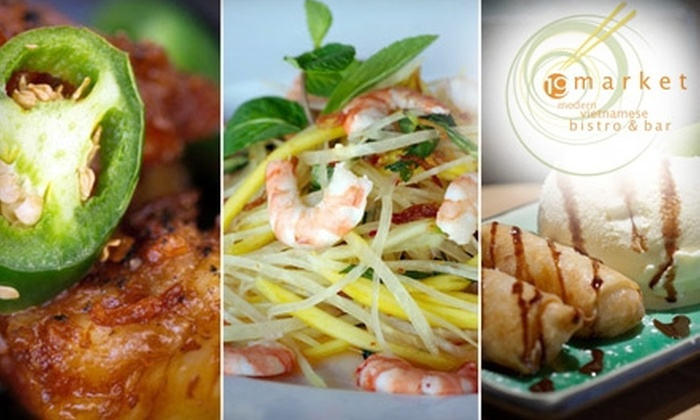 19Market - Downtown San Jose: $20 for $40 Worth of Modern Vietnamese Dishes and Beverages at 19Market