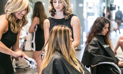 Shampoo, <strong>Haircut</strong>, and Blow Dry at Imagine's Encore Salon (Up to 60% Off)