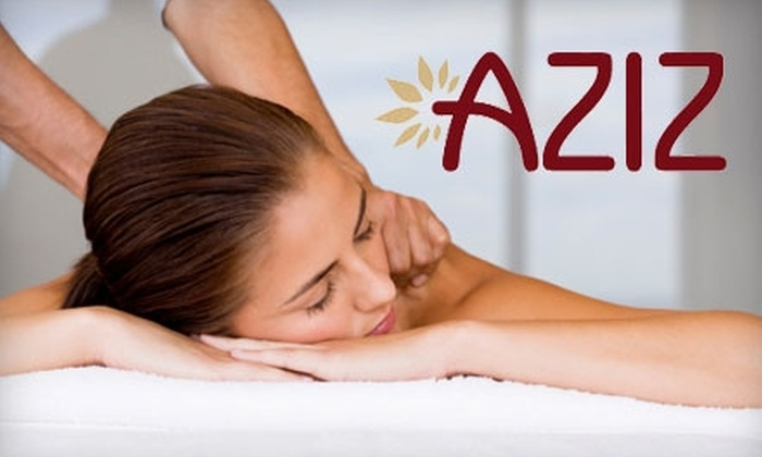 Aziz Salon and Day Spa - Austin: $49 for Salon and Spa Services at Aziz Salon and Day Spa. Choose From Three Options.