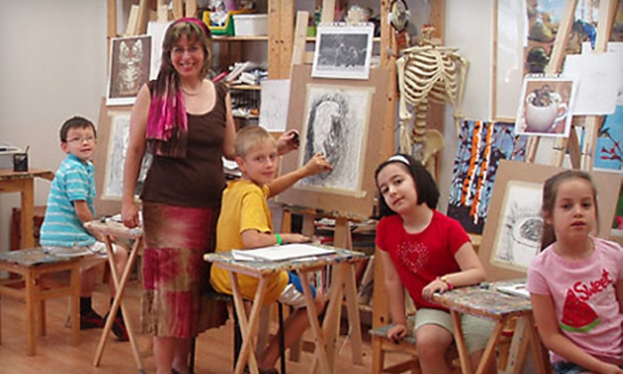 Art One Academy - Richmond Hill,: $20 for Two Art Combo Classes or Two Comics and Animation Classes at Art One Academy in Richmond Hill (Up to $70 Value)