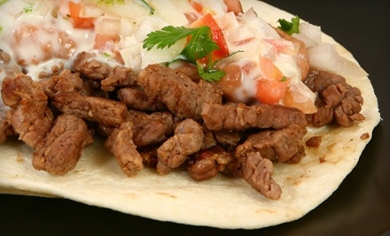 $10 Groupon to Sexy Taco - Sexy Taco in Greenville