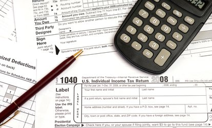 image for $43 for 1040 Tax Preparation Service at Flash Tax Service ($100 Value)