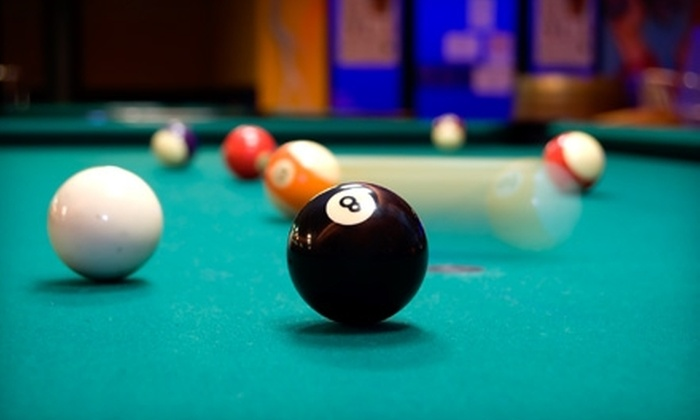 Eastside Billiards and Bar - Upper East Side: $30 for Two Hours of Pool for Two, Four Drinks, and a Pizza at Eastside Billiards and Bar (Up to $62 Value)