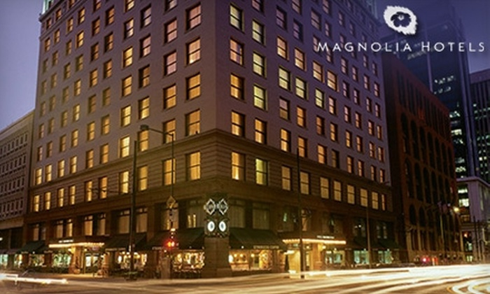 Magnolia Hotel Denver - Central Business District: $10 for $20 Worth of Drinks and Fare at Harry's Bar in the Magnolia Hotel