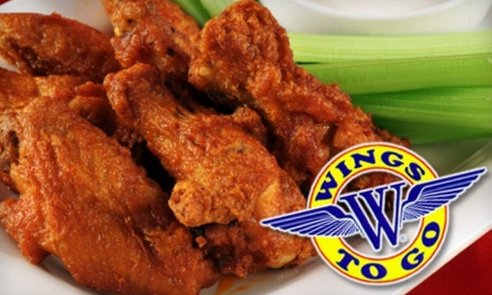 Wings to Go - Midwest City: $5 for $10 Worth of Wings and More at Wings to Go