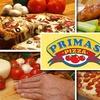 52% Off at Primas Pizza