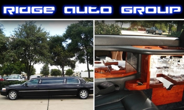 Ridge Auto Group - Dallas: $35 for 1-Hour Limo Ride from Ridge Auto Group ($100 Value)