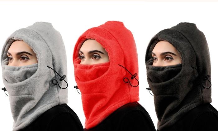 Maschera in pile 8 in 1 per il viso