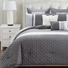Somali Comforter Set with Two Decorative Pillows (8-Piece)