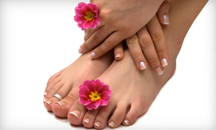 Bellezza Day Spa - Millbrae: $35 for a Royal Manicure and Pedicure at Bellezza Day Spa in San Bruno ($75 Value)