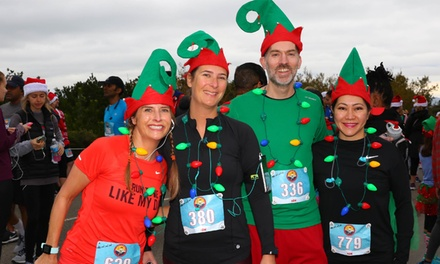 5K or 10K Run Registration for One, Two, or Four to Elf on the Run on December 15 (Up to 50% Off)