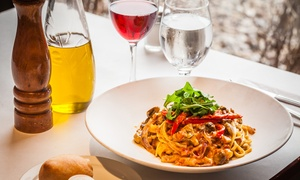 Giorgio Ristorante: Souper de pâtes, pizza ou gastronomie italienne pour 2 ou 4 chez Giorgio Ristorante Laval (jusqu'à 54 % de rabais)