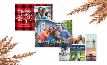 Up to 92% Off Custom Holiday Cards from Collage.com
