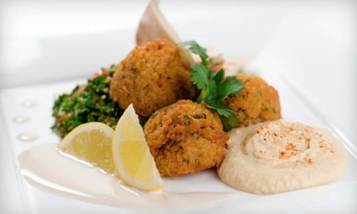 Karam Lebanese & Syrian Cuisine - Downtown Portland: Lebanese Food for Lunch or Dinner at Karam Lebanese & Syrian Cuisine (Up to45%Off)