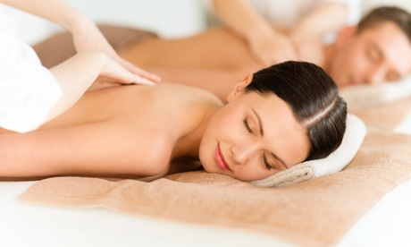 60-Minute Couples Massage with Optional Sauna at Massage Green Spa (Up to 38% Off)