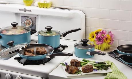 Farberware High-Performance Non-Stick Cookware Set (17-Piece) e3af434e-0ffb-11e7-b3e2-00259060b5da