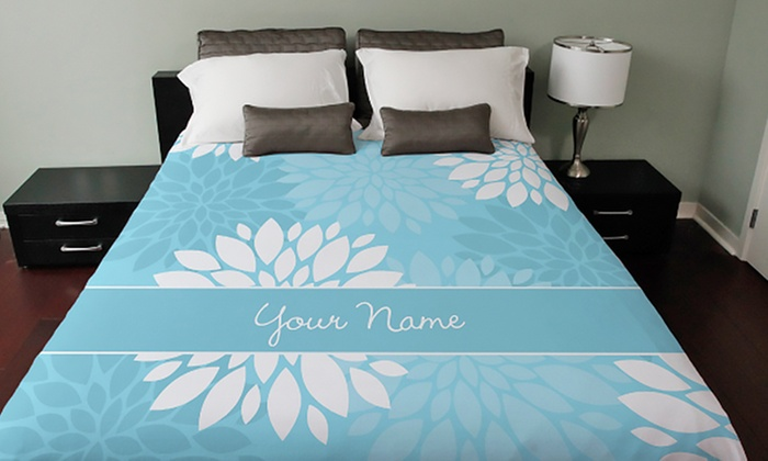 personalized duvet cover cafepress groupon