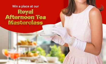 RoyalTea: Win A Place At Groupon's Royal Afternoon Tea Masterclass For You And A Friend