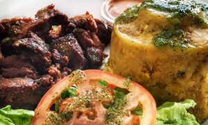 Caribbean Food at Tainos Authentic Caribbean Cuisine (Up to 57% Off). Two Options Available.