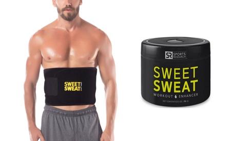 Waist Trimmer with Sweet Sweat Workout Enhancer (3.5 Oz.)