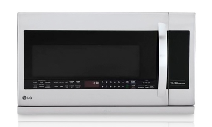 GCR Corporation - IN-STORE PICKUP: $244.99 for a LG 1,000 Watt Over-the-Range Microwave with In-Store Pickup at GCR Corporation ($499 Value)