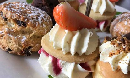 image for Afternoon Tea with Optional Champagne or Gin and Tonic for Two or Four at Etrop Grange Hotel (Up to 55% Off*)
