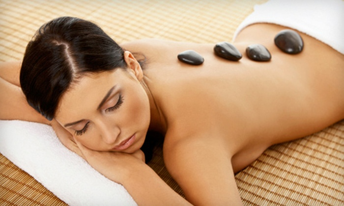 Andrea's Organic Hair Studio &  Day Spa - North Naples: $49 for a One-Hour Hot-Stone Massage at Andrea's Organic Hair Studio & Day Spa ($130 Value)