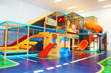 Rainbow City Children Playcentre Entry: 1 $7, 2 $12 or 3 Kids Aged 18 $15, Excl. $2.50 Socks Fee Up to $28.50