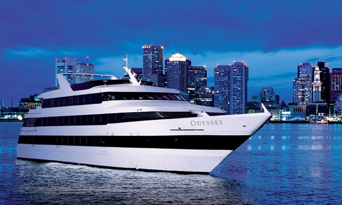 Odyssey Cruises - Rowe's Wharf: Three-Hour Dinner Cruise Sunday–Wednesday, or Thursday-Saturday from Odyssey Cruises (40% Off)