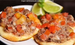 Kib's Cozinha Árabe: Kib's Cozinha Árabe – Joinville: rodízio árabe + sobremesa para 2, 4, 6 ou 8 pessoas