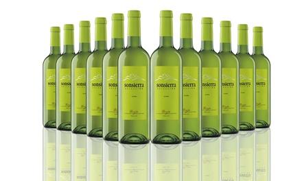 12 bottles of white rioja wine