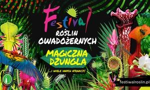 Festiwal Roślin Owadożernych: Od 19,99 zł: bilet dla 2 osób na Festiwal Roślin Owadożernych i więcej opcji – Spodek w Katowicach (do -35%)