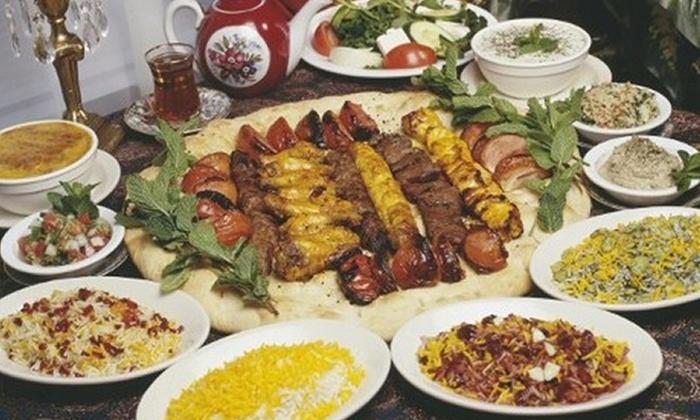 Alborz Persian Cuisine - North Shoal Creek: $10 for $20 Worth of Persian Dinner Cuisine at Alborz Persian Cuisine