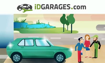 Bon d'achat de 50 €, 100 € ou 150 € dès 25 € valable dans plus de 4000 garages partenaires iDGARAGES