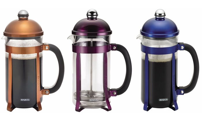 Bonjour Coffee 8 Cup Maximus French Press