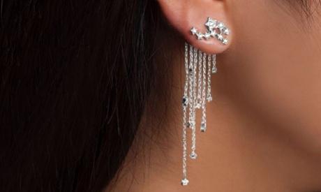 1 ou 2 paires de boucles d'oreille Marcus Emporium, motif étoiles filantes