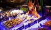 4* Seafood Buffet with Soft Drinks: Child (AED 69) or Adult (AED 115)